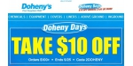 Dohenys coupon code