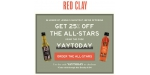Red Clay coupon code