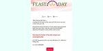 Feast Day coupon code
