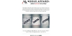 Modus Apparel coupon code