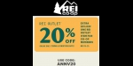 REI CO.OP coupon code