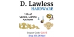 D. Lawless Hardware coupon code