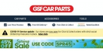 GSF Car Parts coupon code