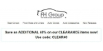 FH Group coupon code