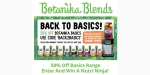 Botanika Blends coupon code