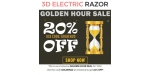 3D Electric Razor discount code