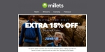 Millets coupon code