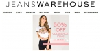 Jeans Warehouse coupon code