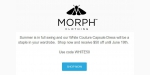 Morph Clothing discount code