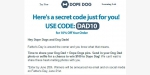 Dope Dog coupon code