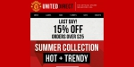 Manchester United coupon code