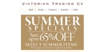 Victorian Trading Co coupon code