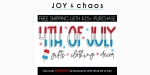Joy & Chaos discount code