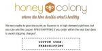 Honey Colony coupon code