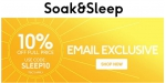 Soak & Sleep coupon code