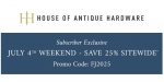 House of Antique Hardware coupon code