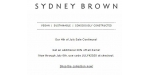 Sydney Brown coupon code