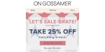 On Gossamer discount code