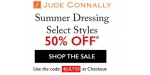 Jude Connally coupon code