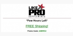 Like A Pro Supplements coupon code