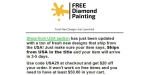 Free Diamond Painting coupon code