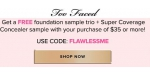 Too Faced coupon code