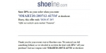 Shoeline coupon code