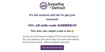 Breathe in Detroit coupon code