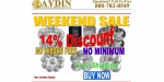 Aydin Coins and Jewelry coupon code