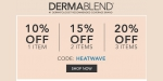 Dermablend  coupon code