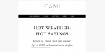 Cami NYC coupon code