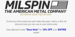 Milspin coupon code