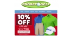 Budget Golf coupon code