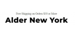 Alder New York coupon code