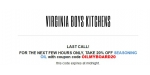 Virginia Boys Kitchens coupon code