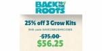 Back to the Roots coupon code
