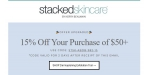 StackedSkincare® coupon code