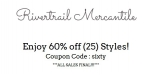 Rivertrail Mercantile coupon code