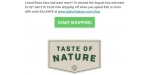 Taste of Nature discount code