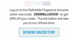 DefineMe Fragrance coupon code
