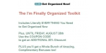 Get Organized Now coupon code