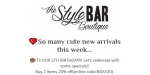 The Style Bar Boutique discount code