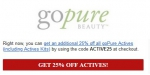 GoPure Beauty coupon code