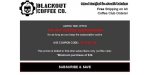 Blackout Coffee Co coupon code
