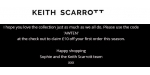 Keith Scarrott coupon code