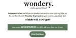 Wondery coupon code