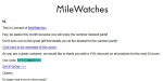 Mile Watches discount code
