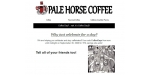 Pale Horse Coffee discount code