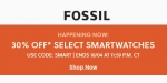 Fossil coupon code