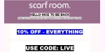 Scarf Room coupon code
